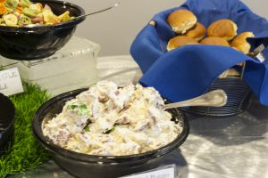 Pasta Salads, Rolls and Meats at the WV Black Bears Game 07/14/17