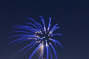 Spectacular Fireworks Show at the WV Black Bears Game 07/14/17