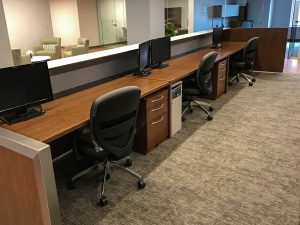 Collaborative Workstation by Omega Commercial Interiors