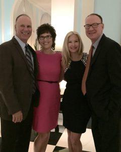 Bob and Peggy Lovio, Lisa and David McCormick