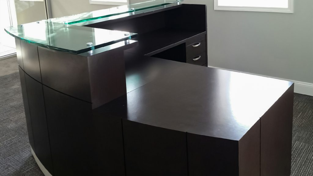 Mounted Glass Surface