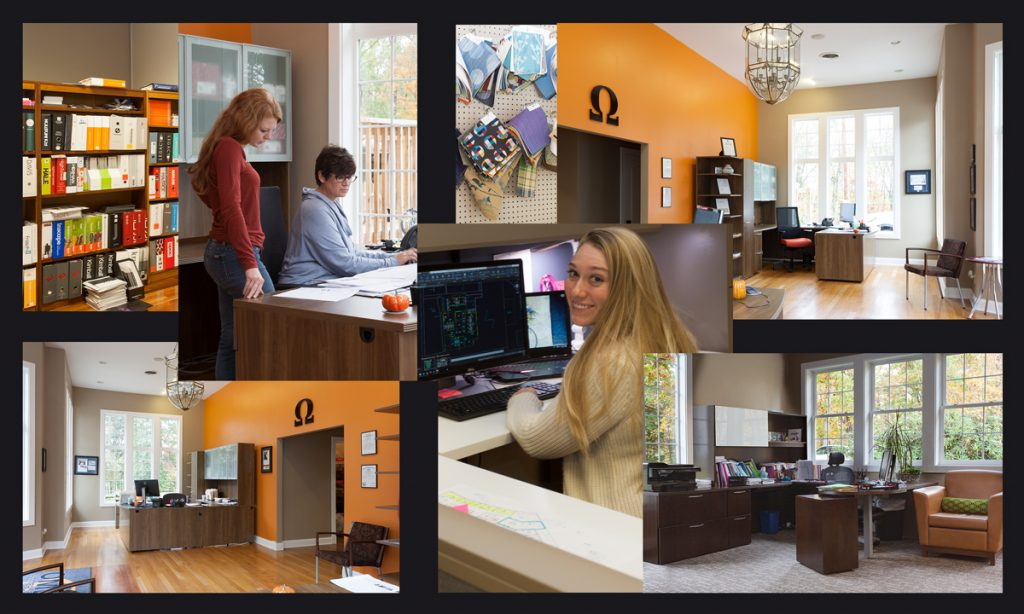 Omega Commercial Interiors Office in Morgantown, WV.
