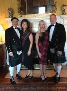 Kimball's sales incentive travel rewards to Scotland- Bob and Peggy Lovio and Lisa and David McCormick