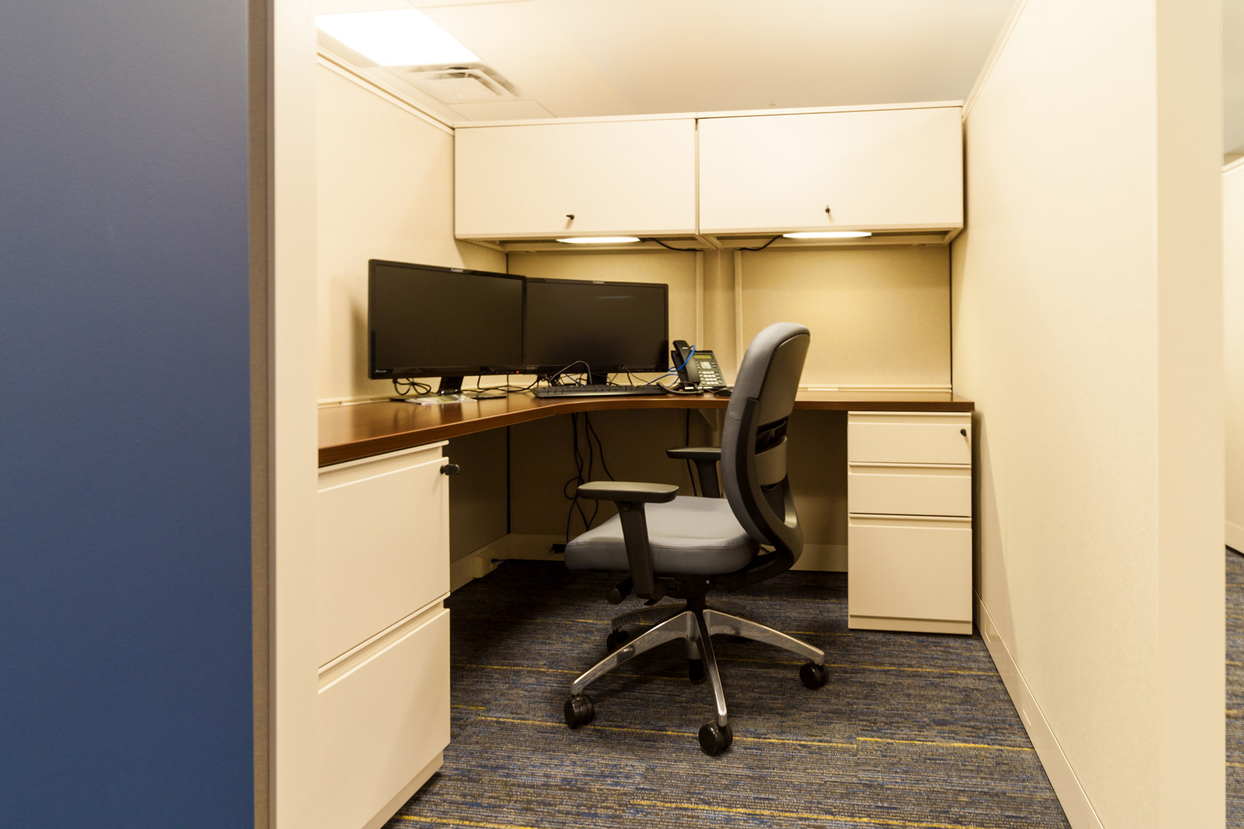Practical Storage Solutions for WVU Cancer Center in Morgantown, West Virginia.