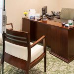 Executive Office designed by Omega Commercial Interior Designers