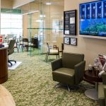 Bank Waiting Area designed by Omega Commercial Interior Designers