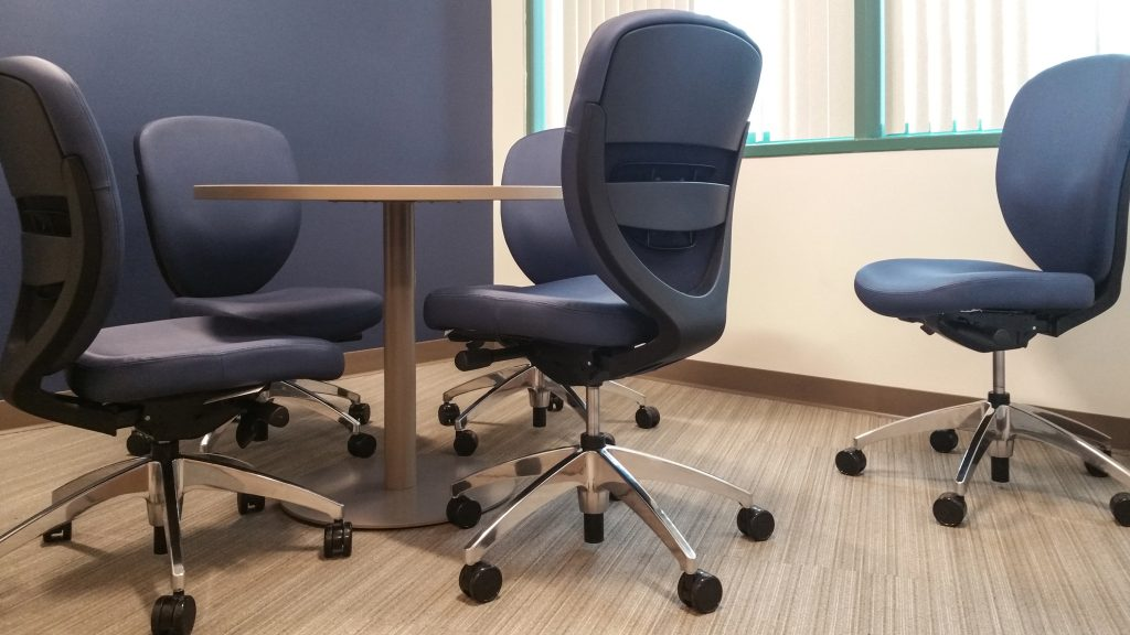 Omega Commercial Interiors designs for quality task office chairs