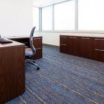 Desk / Midback Chair / Credenza