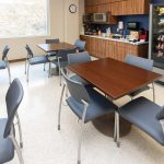 WVU Urgent Care- Cafeteria- Designed by Omega Commercial Interiors