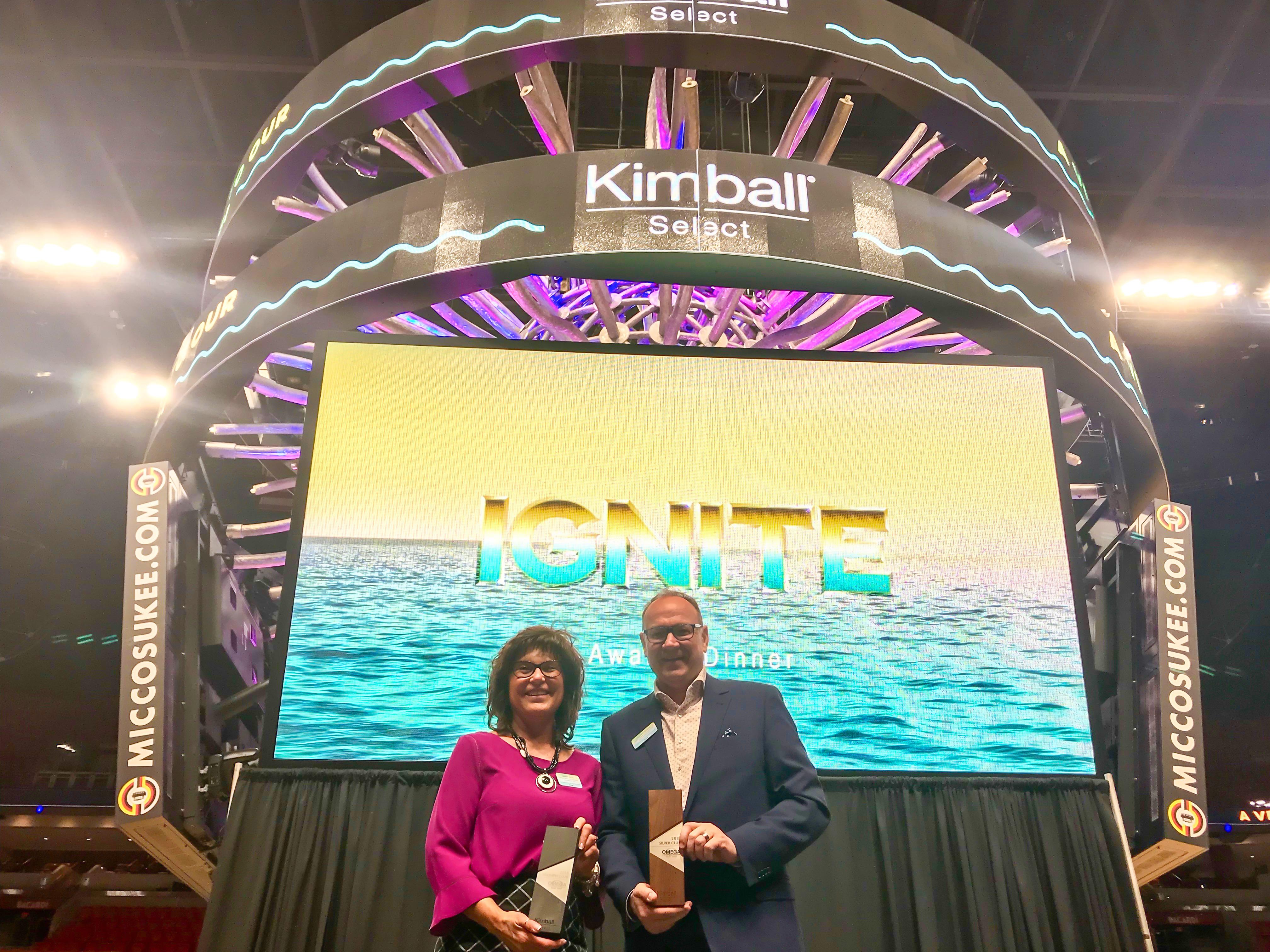 David McCormick and Peggy Schifano Lovio at Ignite Select Dealer Meeting - Miami - 2018