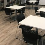 Kimball Dock Tables w/ Poly Chairs