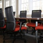 National Foot Table and HON Ignition Chairs