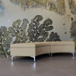 Curved Lounge Bench
