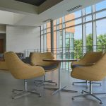 Pedestal Chairs and Table