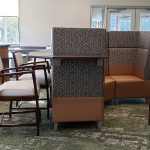 Kimball® Villa™ Lounge Seating with National® Eloquence™ Side Chairs