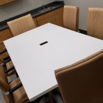 Kimball® Dock™ Conference, Alterna™ Storage, and National® Respect™ Conference Chairs