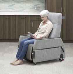 IOA Exam Chair in Waiting Position
