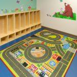 Children's Locker Area