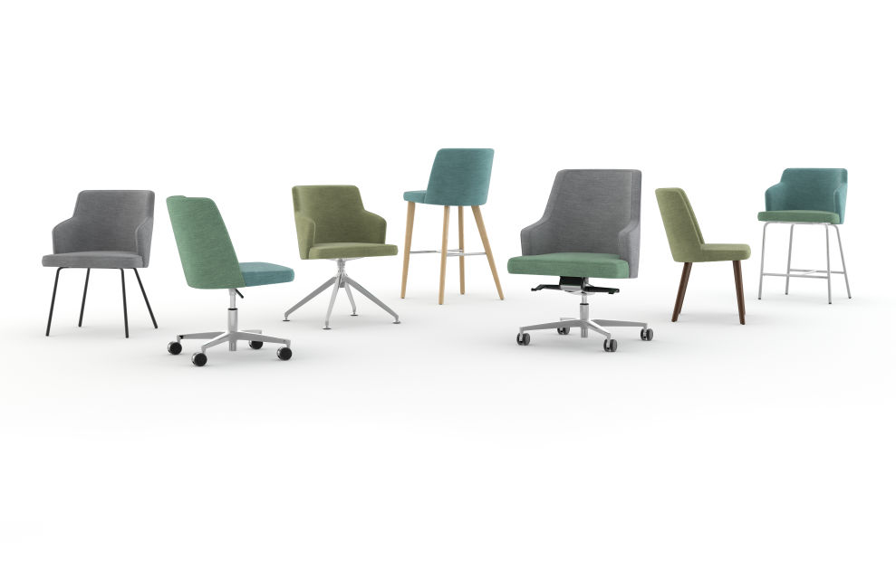 Nate & Natty™ Conference and Side Chairs by Kimball®